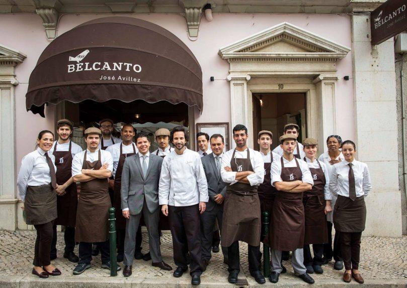 Belcanto - Restaurant 2 Etoiles Michelin Lisbonne - Jose Avillez et son equipe
