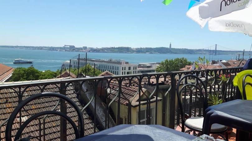 Cantinho das Freiras - Restaurant pas cher Lisbonne - Terrasse