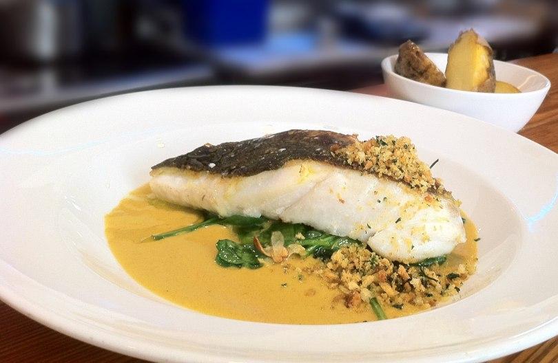 Plat de cabillaud de Norvege - Peixaria da Esquina - Restaurant de poisson Lisbonne