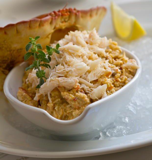 Farce de Crabe - Restaurant Peixaria da Esquina - Lisbonne - Campo de Ourique