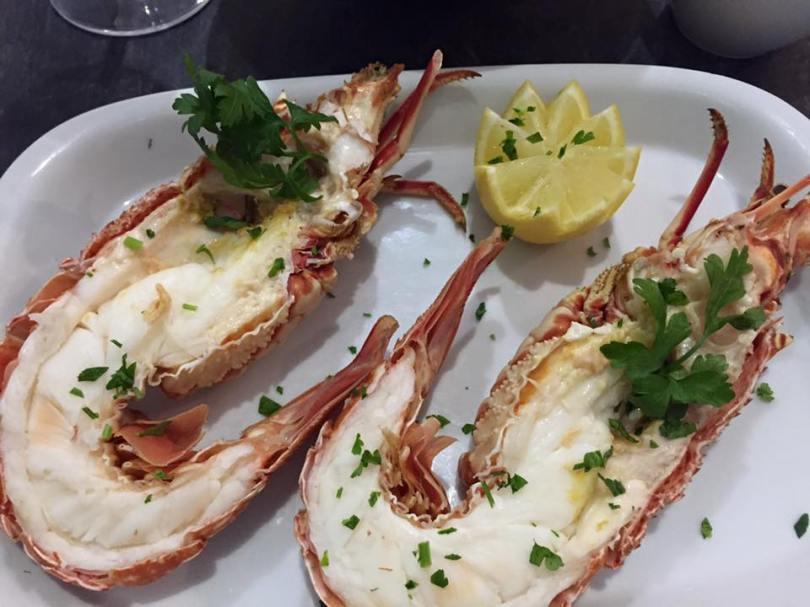 Homard prepare au Aqui Ha Peixe - Restaurant Poissons et Crustaces - Lisbonne