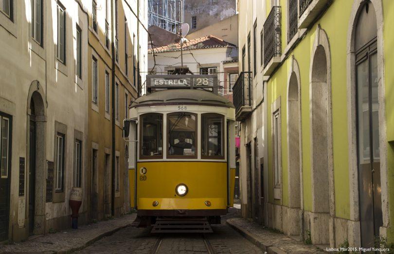 Tramway 28 - Lisbonne - Photo flickr de -Maikel-