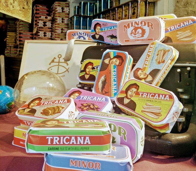 boites de conserves de la Conserveira de Lisboa - Lisbonne