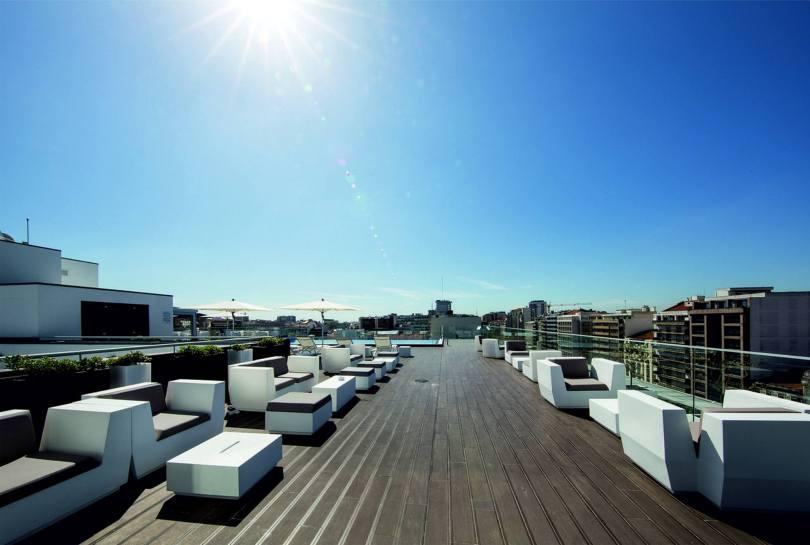 Jupiter Lisboa Rooftop Bar - Terrasse Vue Lisbonne