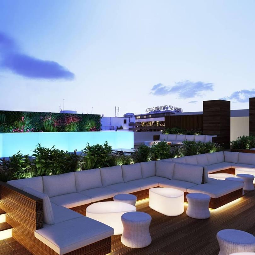 Level Eight Rooftop Bar - Terrasse avec vue - Lisbonne