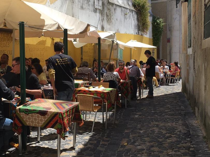 Restaurant Cantinho do Aziz - Cuisine du Mozambique - Lisbonne