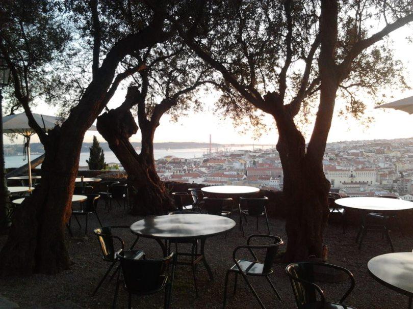 Restaurant Casa do Leao - Terrasse Bar - Lisbonne