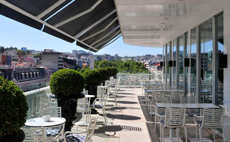 Restaurant Terrasse Rossio - Hotel Altis Avenida - Lisbonne