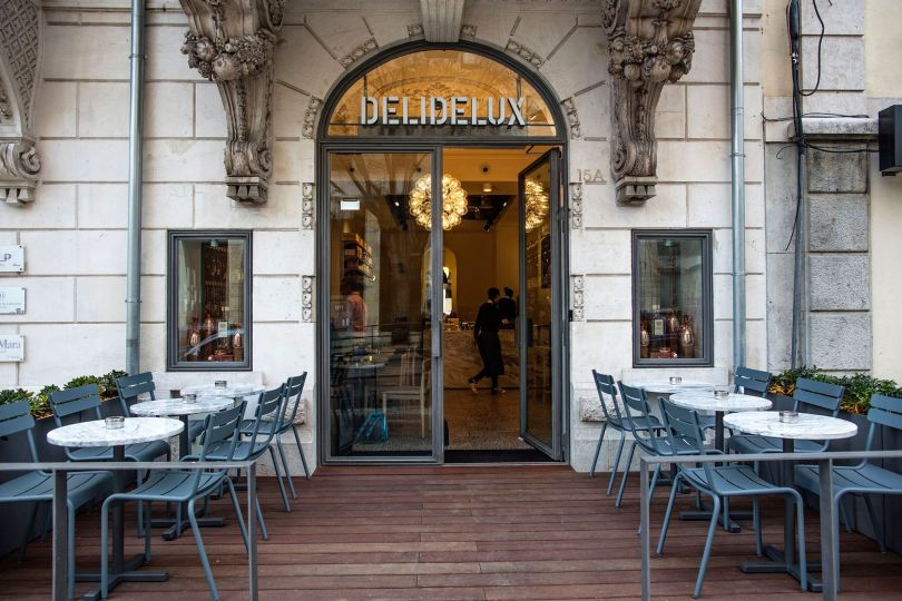 Entree Delidelux Avenida - Epicerie fine - Lisbonne