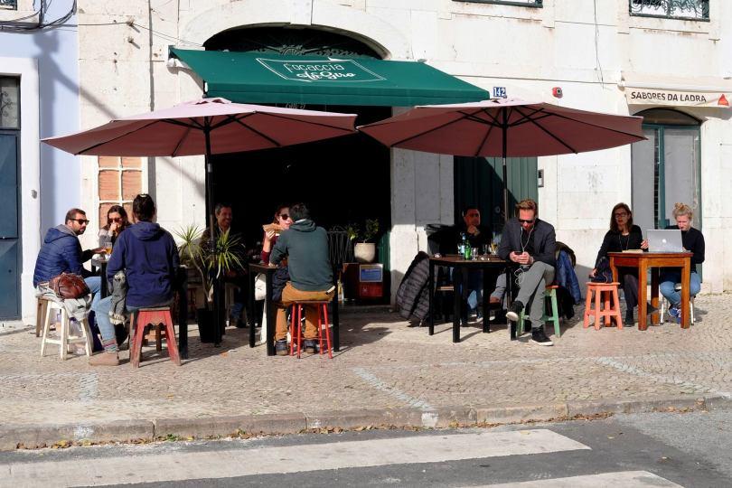 Focaccia in Giro - Street Food italienne - Lisbonne