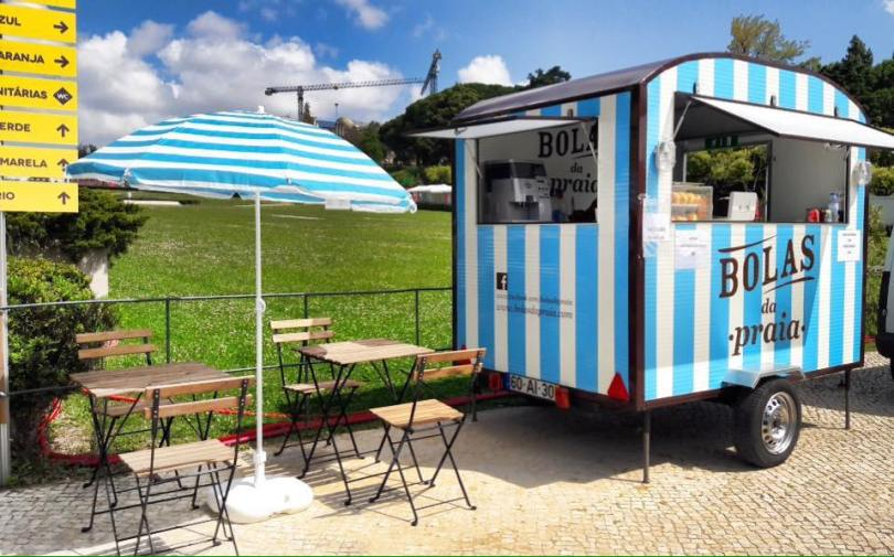 Food truck beignets de plage - Lisbonne - Street Food - Bolas da Praia