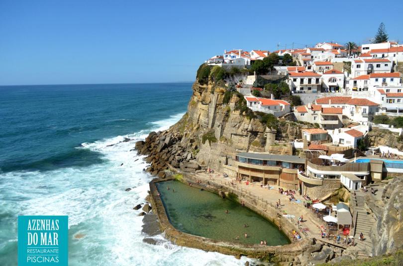Piscine oceanique et restaurant Azenhas do Mar - Colares - Sintra - Lisbonne
