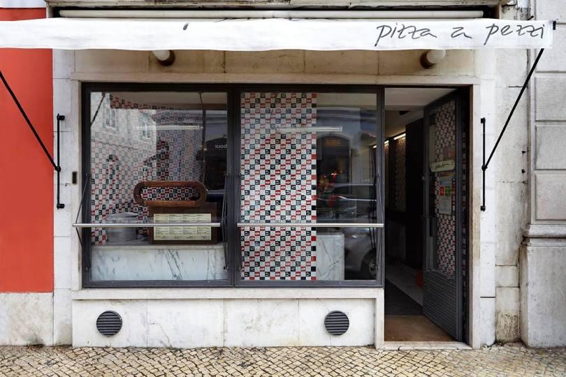 izza a Pezzi - Comptoir Pizzas - Street Food - Lisbonne - Principe Real