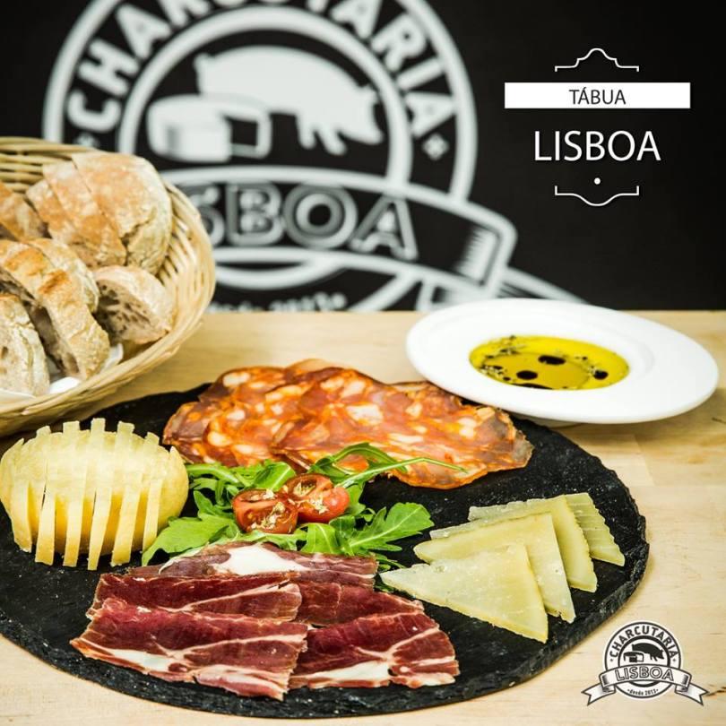 Planche de fromages et charcuerie portugaise - Charcutaria Lisboa - Kiosque Street Food - Lisbonne