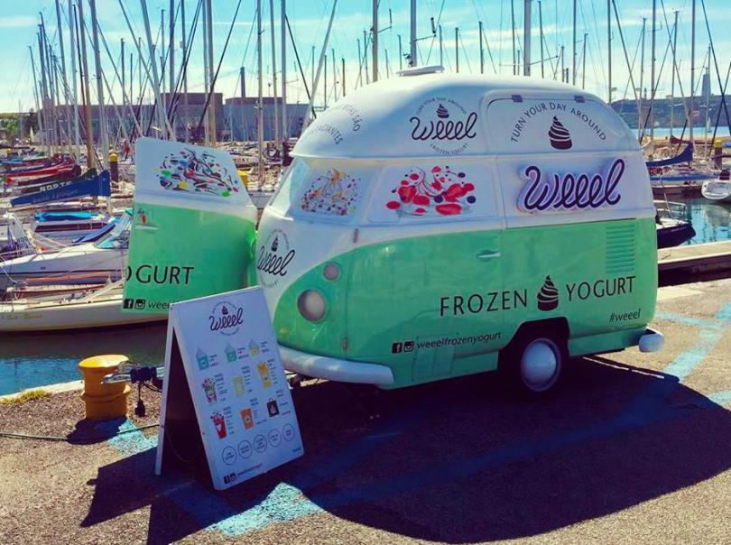 Weeel Frozen Yogurt - Camion glaces - food truck - street food - lisbonne