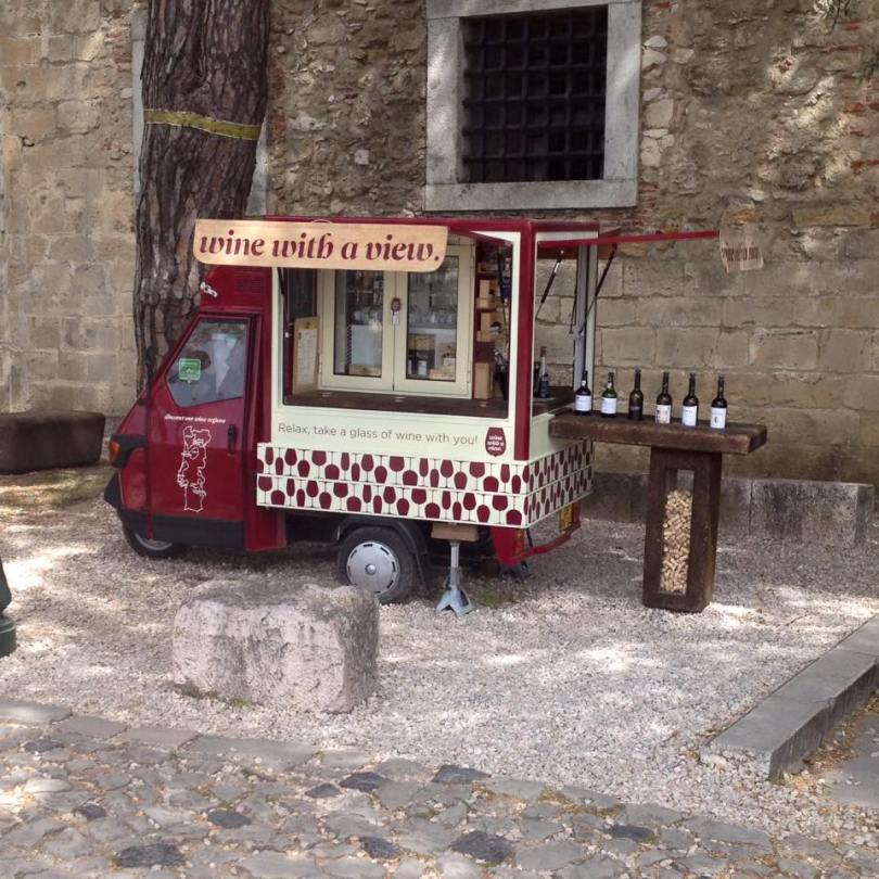 Wine with a view - Foodtruck vins portugais - Lisbonne