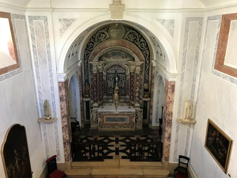 Chapelle de Notre Dame du Rosario - Hotel Vila Gale Palacio dos Arcos - 5 etoiles - Lisbonne