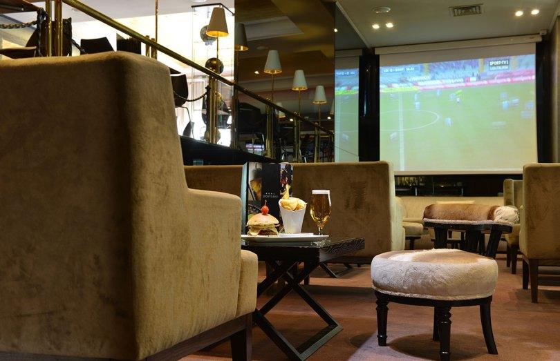 Confortable Salon - Real Sports Bar - Hotel Real Parque - Lisbonne