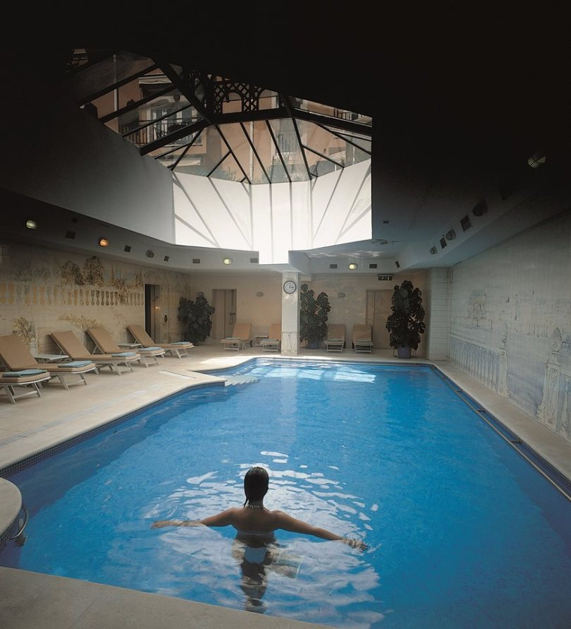 Piscine interieure - Spa Lapa Palace - Lisbonne