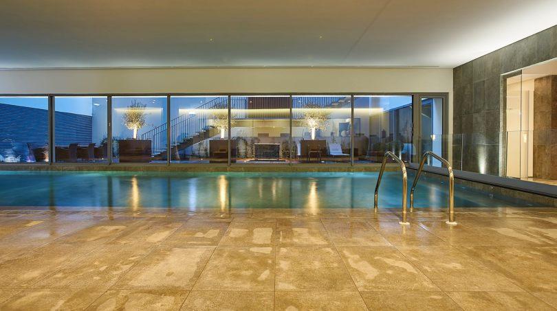 Piscine interieure Spa PortoBay Liberdade - Hotel 5 etoiles - Lisbonne