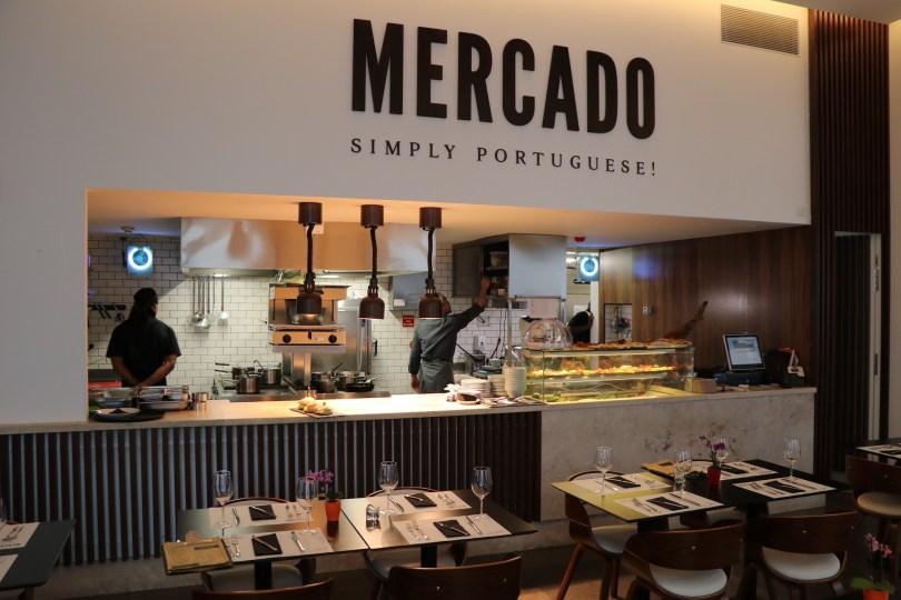 Cuisine ouverte restaurant Mercado - Lumiares Hotel Spa - Lisbonne