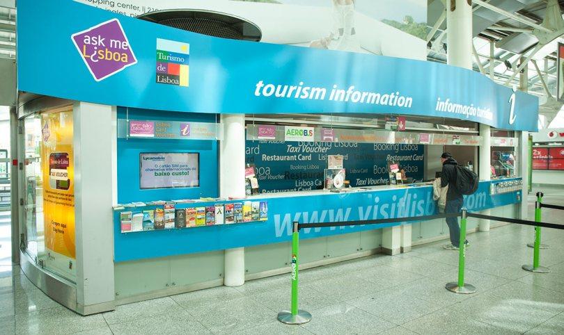Comptoir Ask Me Lisboa - Aeroport de Lisbonne