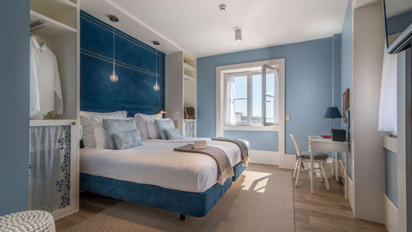Chambre superieure vue riviere - LX Boutique Hotel - Lisbonne