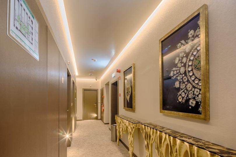 Couloir du MeraPrime Gold Design Hotel Lisboa - Hotel 3 etoiles - Lisbonne