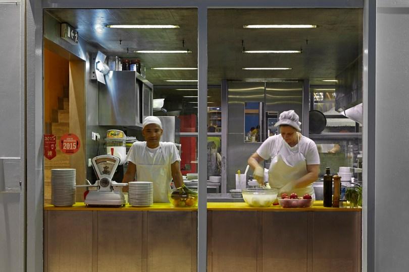 Cuisine de la Pizzeria Casanova - Lisbonne