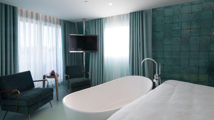 La fameuse chambre 601 du WC by The Beautique Hotels - Lisbonne