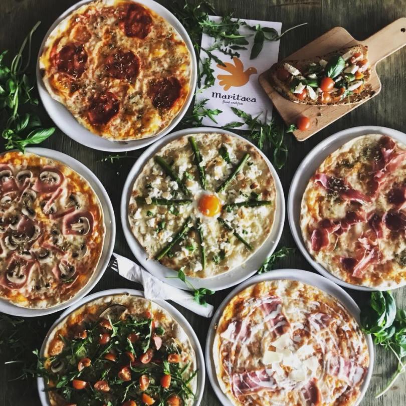 Pizzas de chez Maritaca - Pizzeria Lisbonne