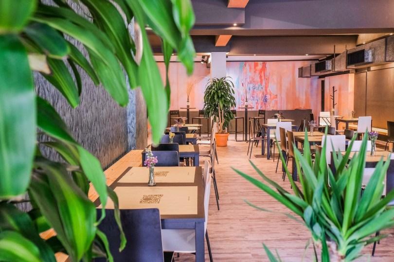 Salle du restaurant TodoMundo - Buffet volonte - Lisbonne