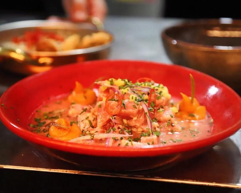 Ceviche de thon de chez Zazah - Lisbonne