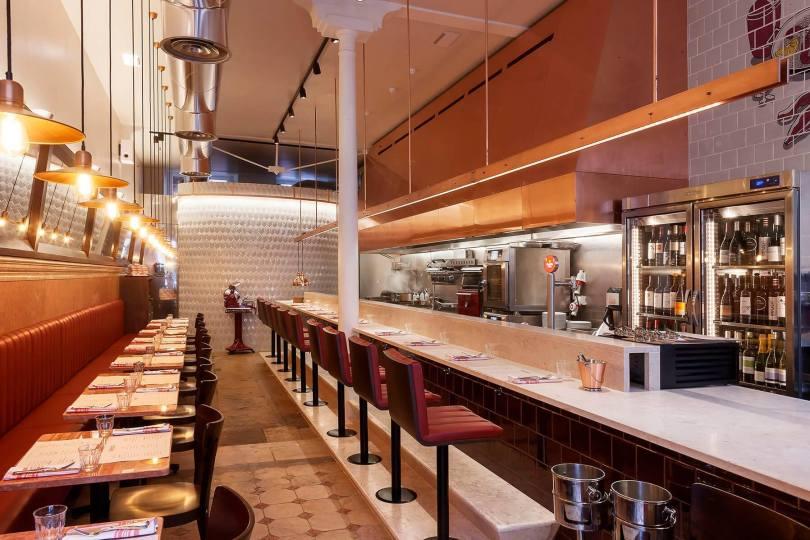 Salle du restaurant Tapisco - Bar et resto tapas - Chef Henrique Sa Pessoa - Lisbonne