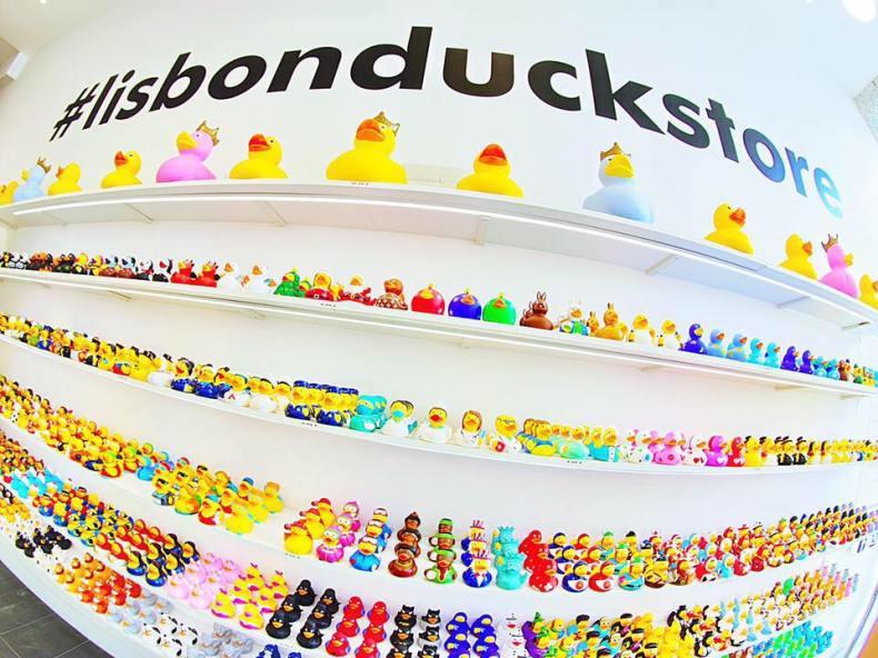 Canards en plastique du Lisbon Duck Store - Lisbonne