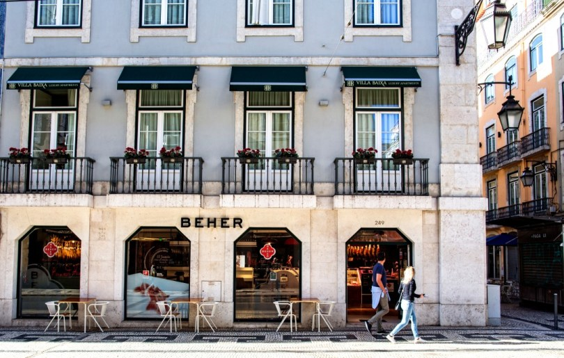 Boutique Charcuterie Beher - Centre de Lisbonne
