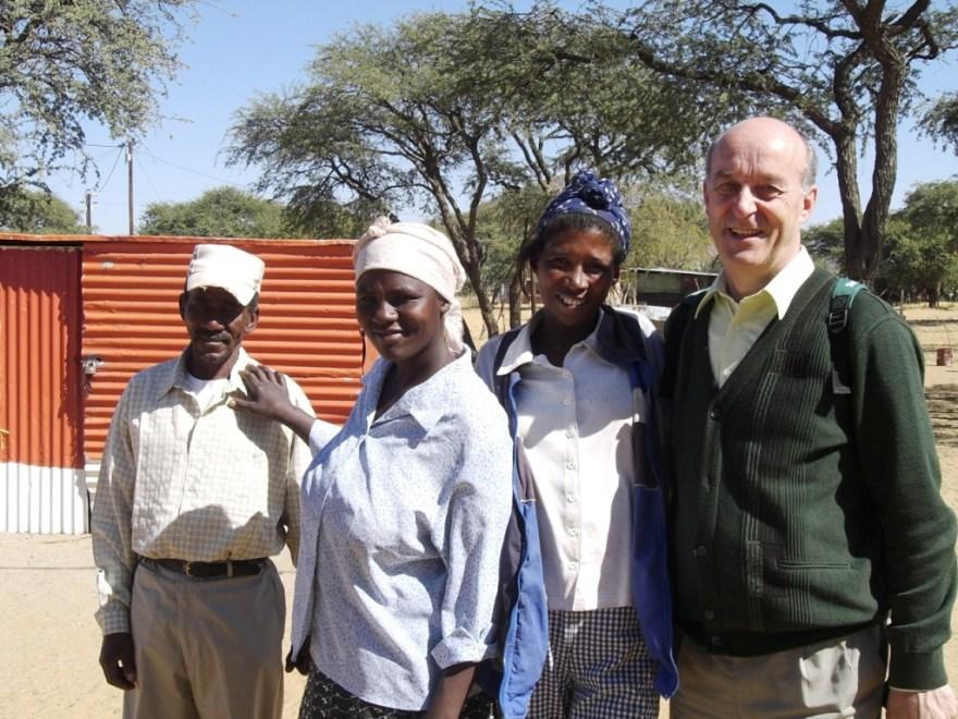 Sepp Kusstatscher in Otjivero Namibië 2008