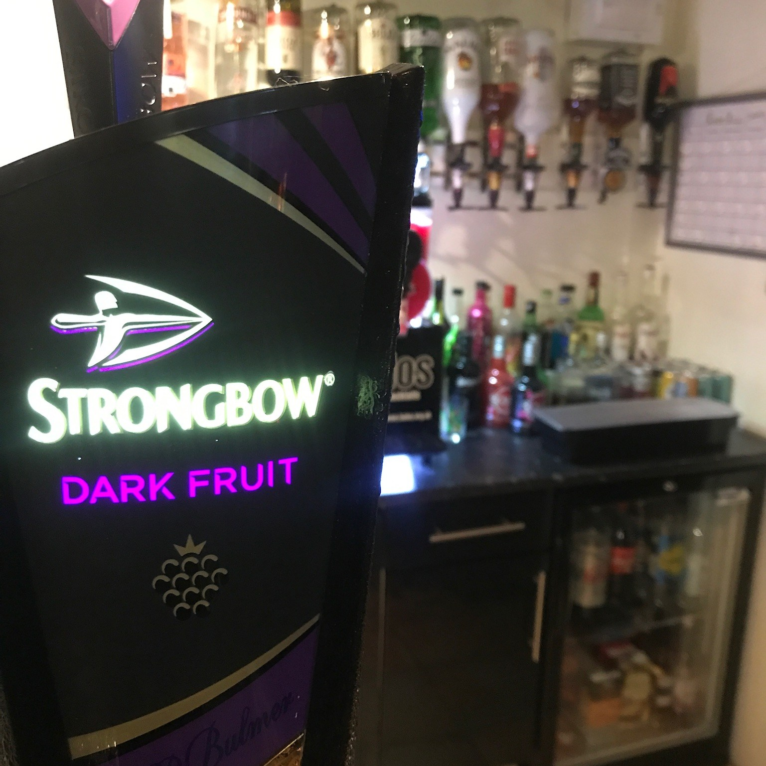 Strongbow Blackpool Bar
