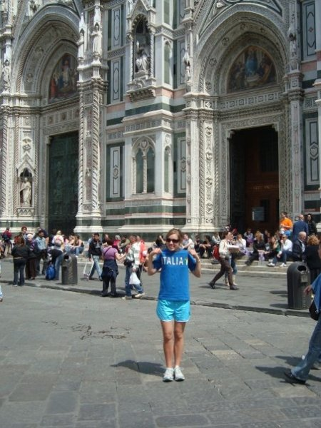 Here I am while studying abroad a few years back...