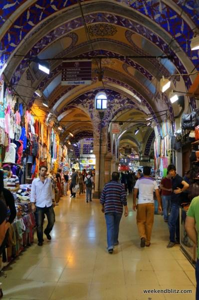 Shopping in the Grand Bazaar