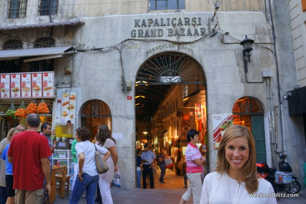 About to head in to the mazes of the Grand Bazaar... couldn't be more excited!!
