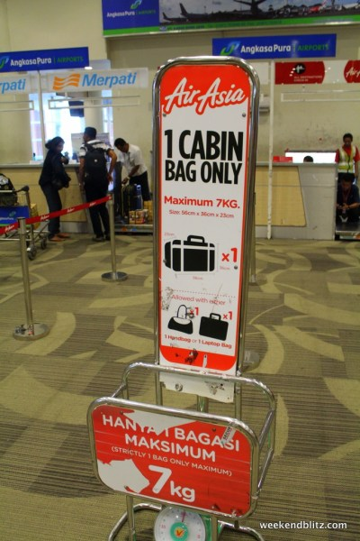 Good fun dealing with Air Asia and their baggage policies...
