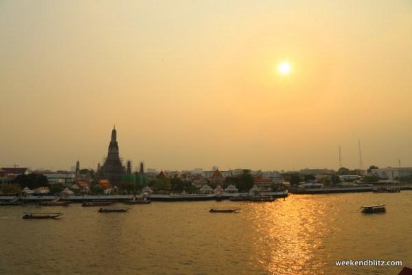 Can't get much better than a Bangkok sunset