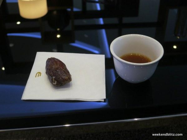 Dates + Arabic Coffee