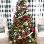 A Plaid Christmas Tree Weekend Craft