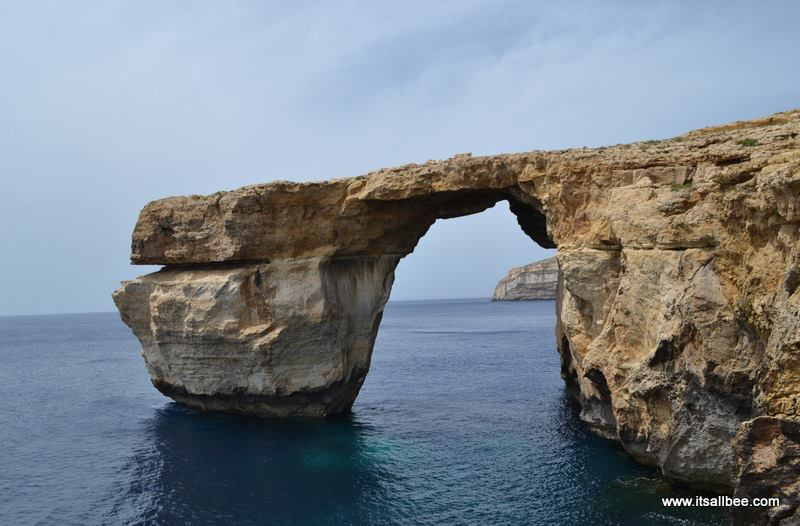 Azure Window on Gozo Island In Malta