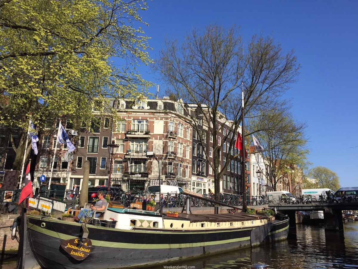 How to spend a layover in amsterdam