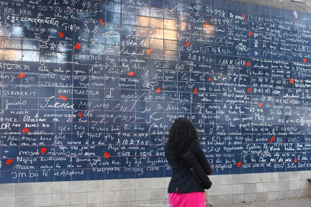 Wall of love in Paris 2
