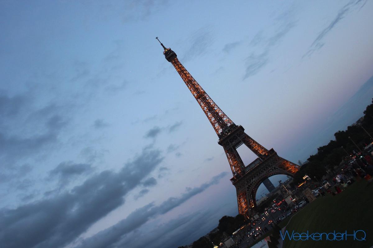 Eiffel Tower Slant