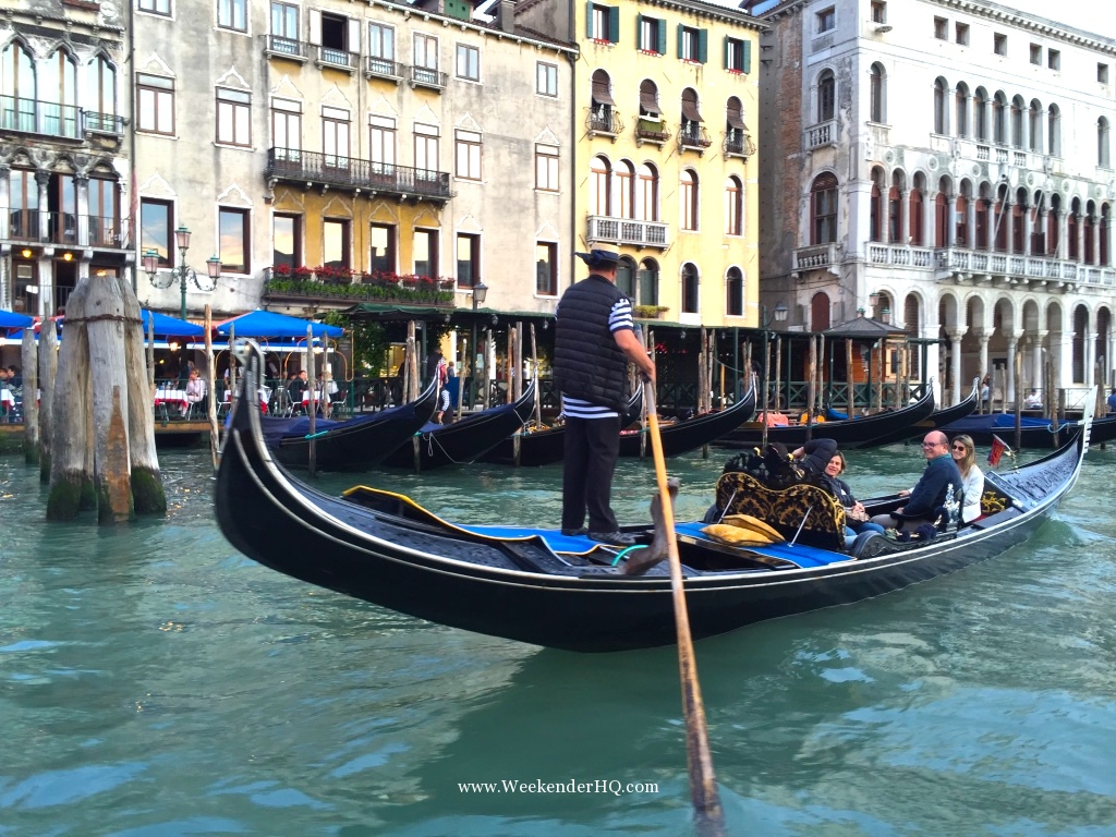 People in a Gondola